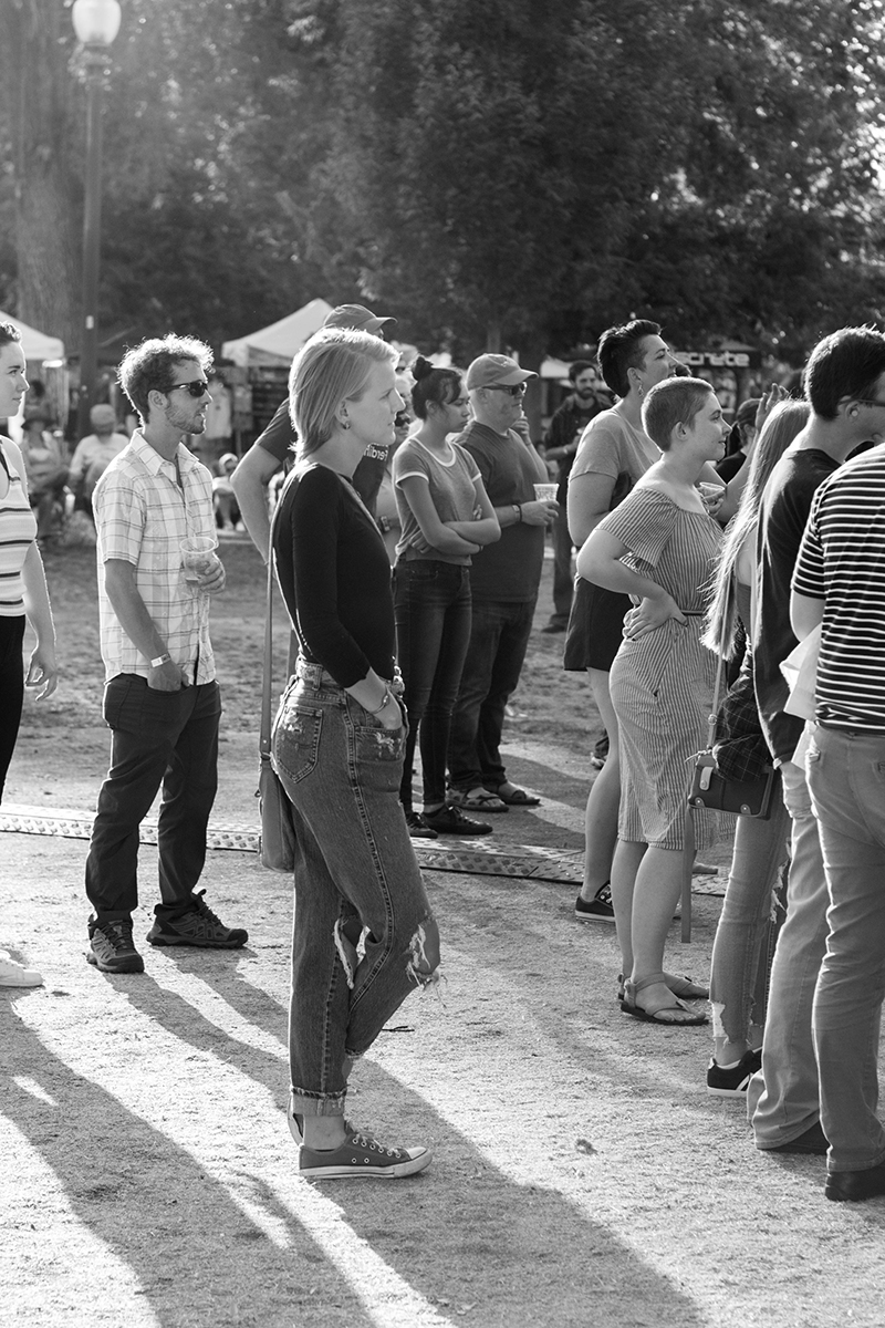 Concertgoers enjoy some soulful tunes and summer sun. Photo: ColtonMarsalaPhotography.com