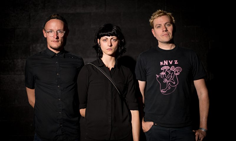 (L–R) Michael Nebeker, Halee Jean, David Payne. Photo courtesy of John Barkiple