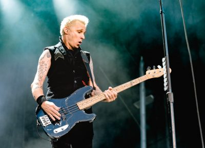 Mike Dirnt, bassist for punk rock group Green Day. Photo: Lmsorenson.net