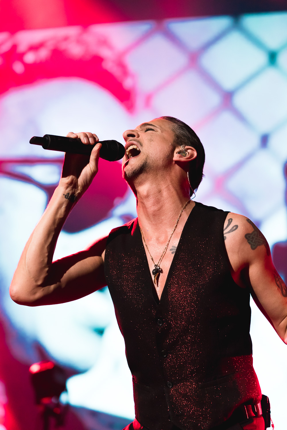 Dave Gahan, lead singer for Depeche Mode. Photo: Lmsorenson.net