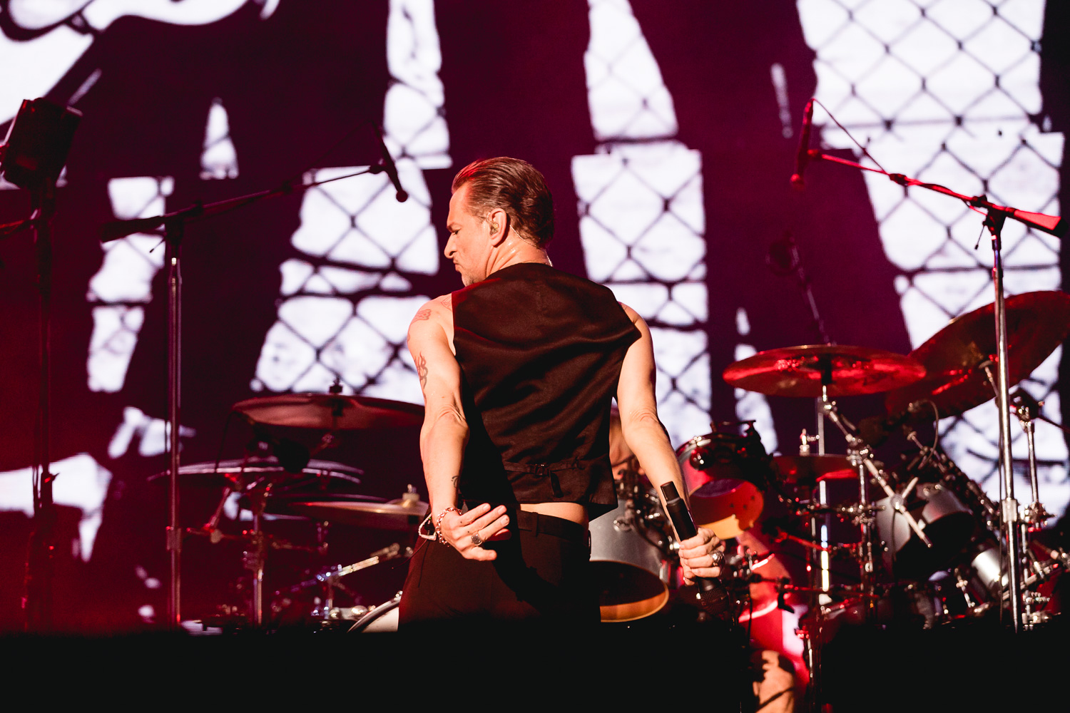Dave Gahan in SLC. Photo: Lmsorenson.net