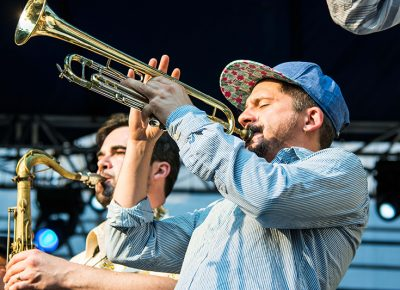 All 11 members of Antibalas play an equal part in crafting the band's sound. Photo: ColtonMarsalaPhotography.com