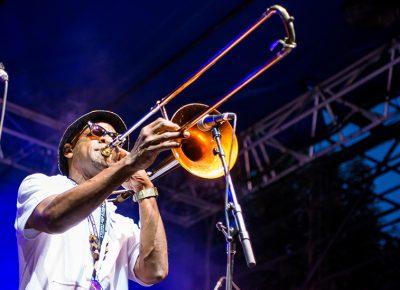 Ryan Porter, trombone. Photo: ColtonMarsalaPhotography.com