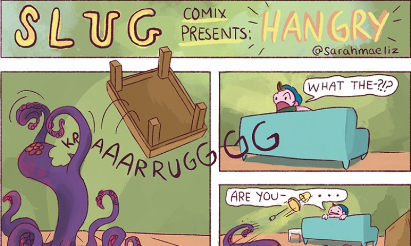 SLUG Comix: Hangry by Sarah Donnelly