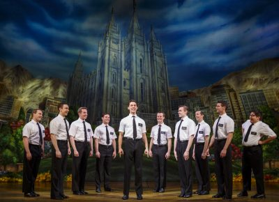 The Book of Mormon. Photo courtesy of Joan Marcus (2017)