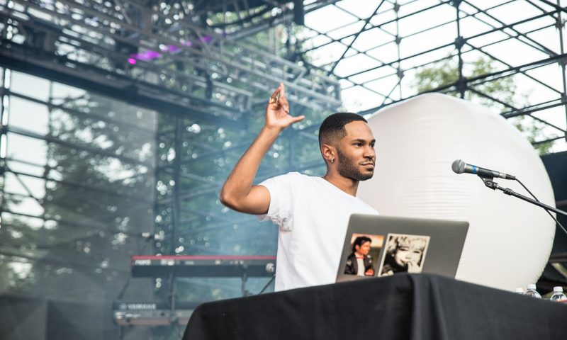 Kaytranada provided more music for the night. Photo: Gilbert Cisneros