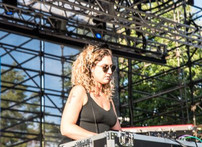 CHOiCE laying down the beats at the Twilight Concert Series. Photo: Gilbert Cisneros
