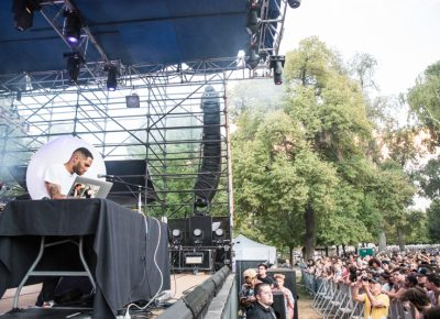 Kaytranada showed Salt Lake City a good time. Photo: Gilbert Cisneros