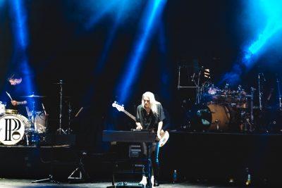 PVRIS lead singer Lyndsey Gunnulfsen playing onstage. Photo: Lmsorenson.net