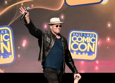 Michael Rooker is always a welcome addition to the panel, talking Walking Dead and Guardians of the Galaxy. Photo: Lmsorenson.net