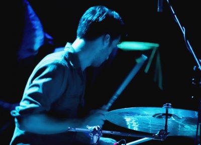 Drummer for Palm Springsten. Photo: Lmsorenson.net