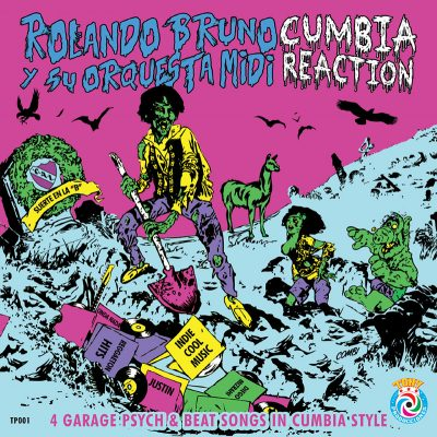 Rolando Bruno y su Orquesta MIDI | Cumbia Reaction | Voodoo Rhythm Records