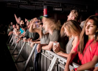 Feeling the rush from the front row. Photo: ColtonMarsalaPhotography.com