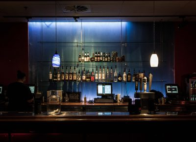 Stocked bar awaits the crowd. Photo: ColtonMarsalaPhotography.com