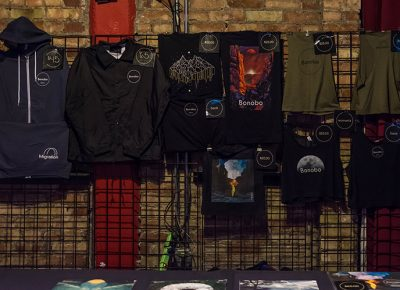 Bonobo merch. Photo: ColtonMarsalaPhotography.com