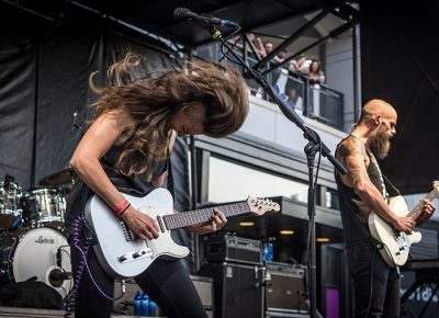 Baroness takes the SLUG Stage. Photo: ColtonMarsalaPhotography.com