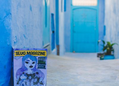 SLUG Mag explores the streets of Chefchaouen, Morocco, doing its best to fit into the chill and relaxed vibe the city is emitting around every corner. Photo: Talyn Sherer