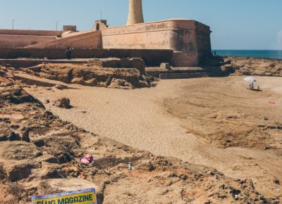 In Morocco's capital city of Rabat, we hit the beach in search of Fort de la Calette Lighthouse. Photo: Talyn Sherer