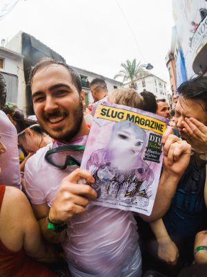 SLUG Mag makes one more appearance before it dives into the crazy world of La Tomatina. Photo: Talyn Sherer