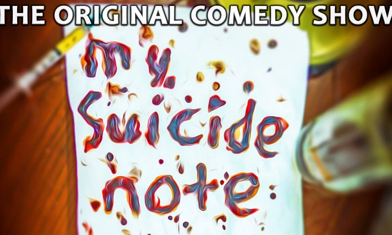 Colin Williams | My Suicide Note Charity Event