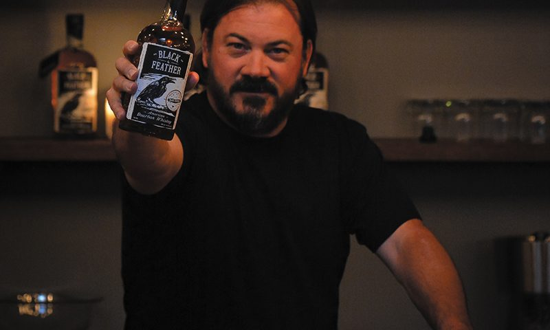 Jeremy Rawle of Black Feather Whiskey. Photo: Andy Fitzgerrell