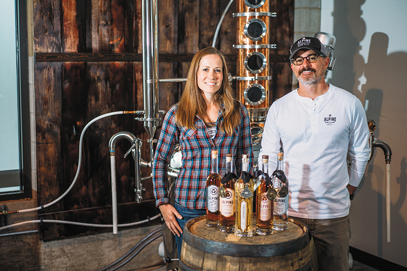 Summit County Sipping with Alpine Distilling
