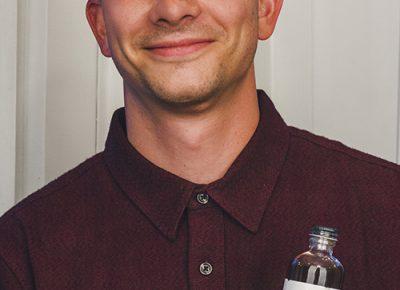 Adam Albro of Honest John Bitters Co. Photo: Talyn Sherer