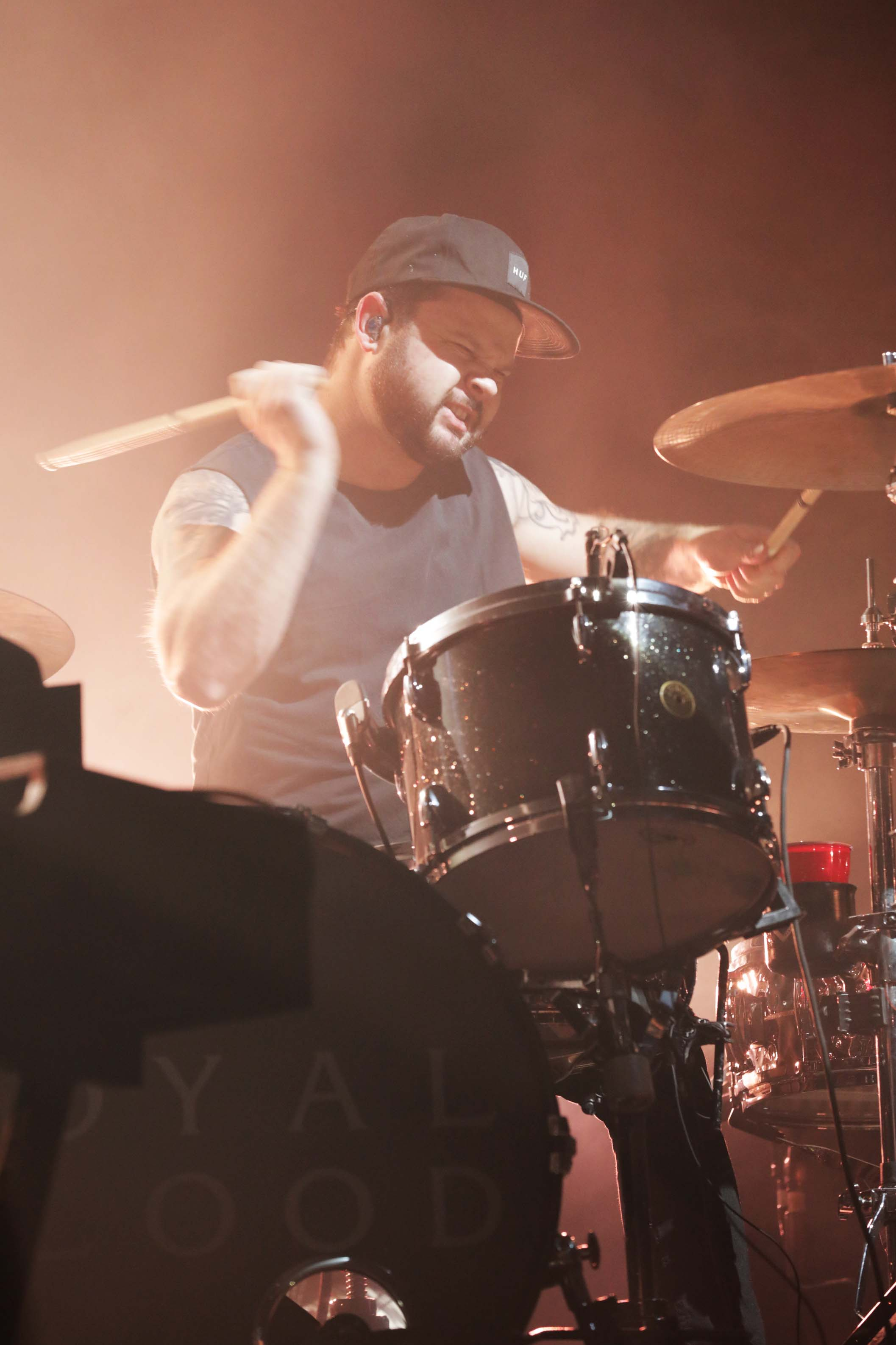 Ben Thatcher, drummer for Royal Blood, rock band from the U.K. Photo: Lmsorenson.net