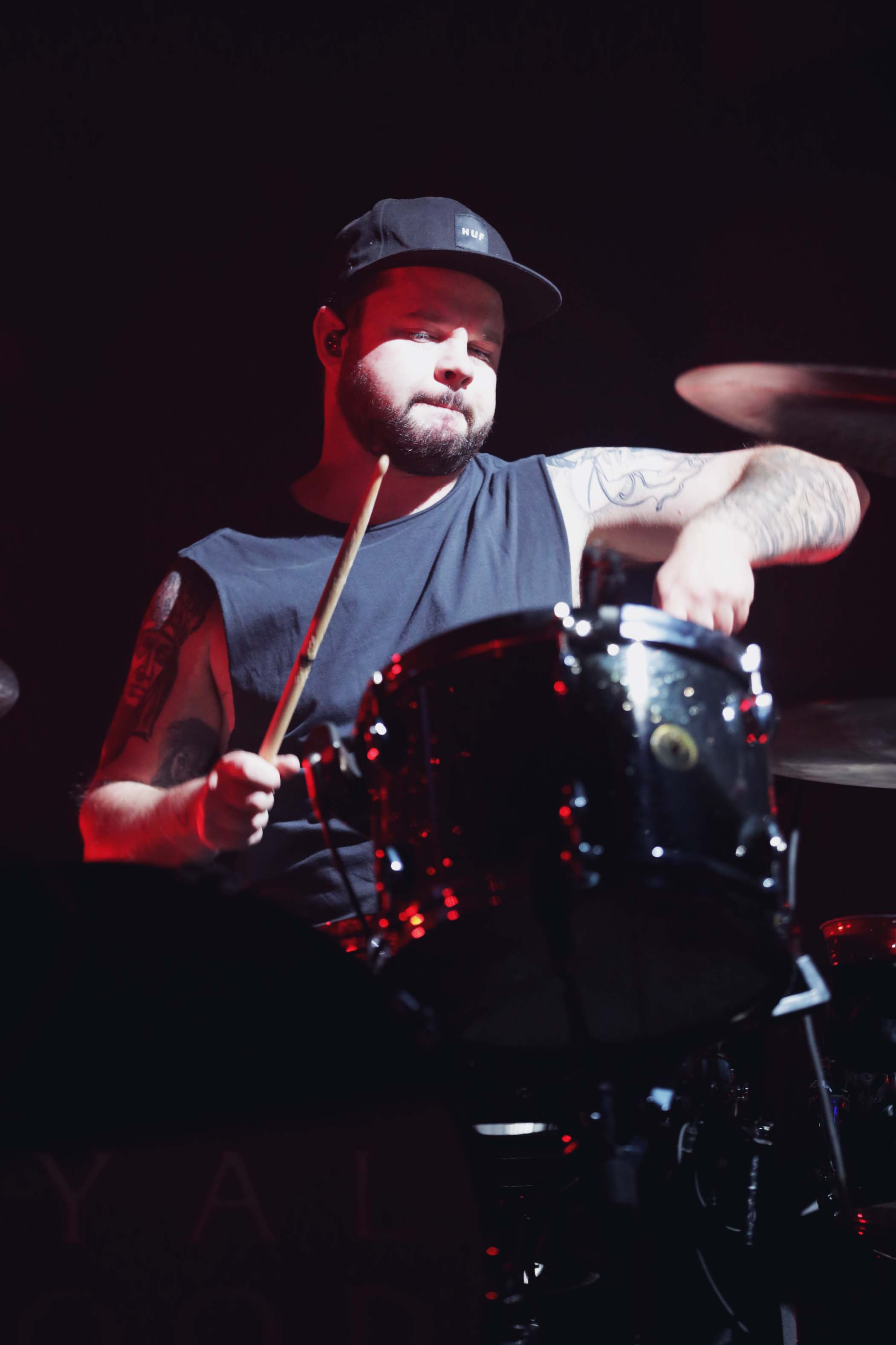 Drummer for Royal Blood, Mr. Ben Thatcher. Photo: Lmsorenson.net