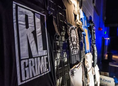 RL Grime offered a wide variety of merch. Photo: ColtonMarsalaPhotography.com
