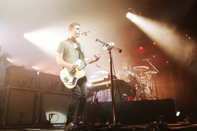 Bass player and vocalist Mike Thatcher of Royal Blood. Photo: Lmsorenson.net