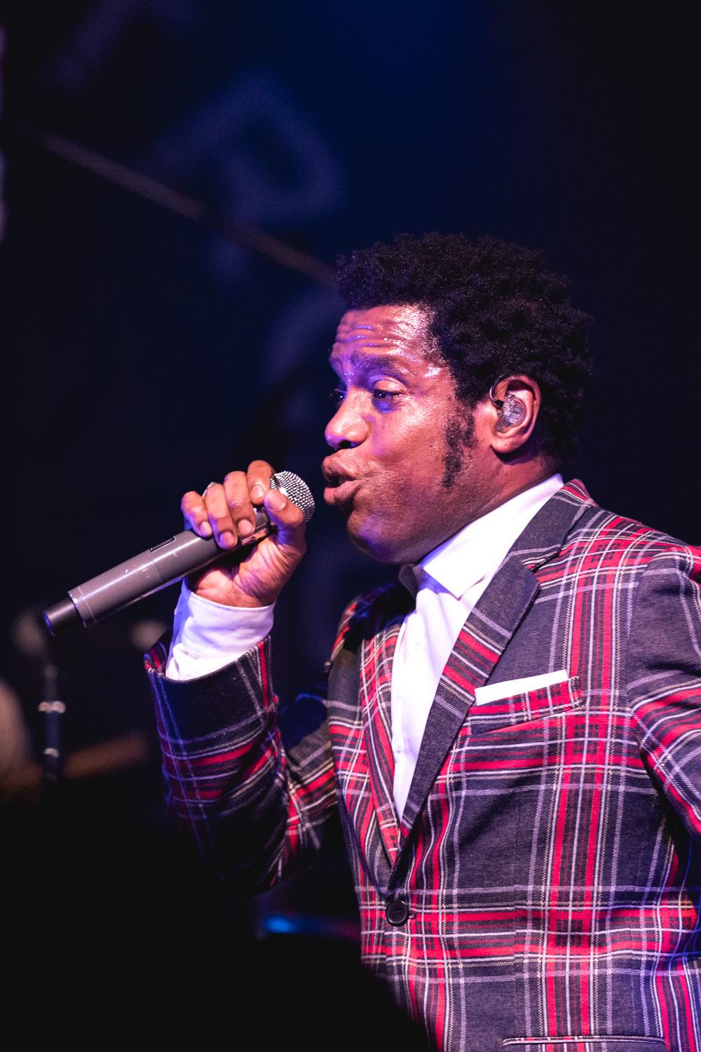 Ty Taylor, singer for Vintage Trouble. Photo: Lmsorenson.net