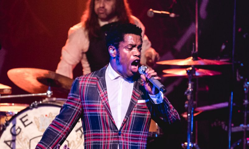Vintage Trouble onstage at The State Room. Photo: Lmsorenson.net
