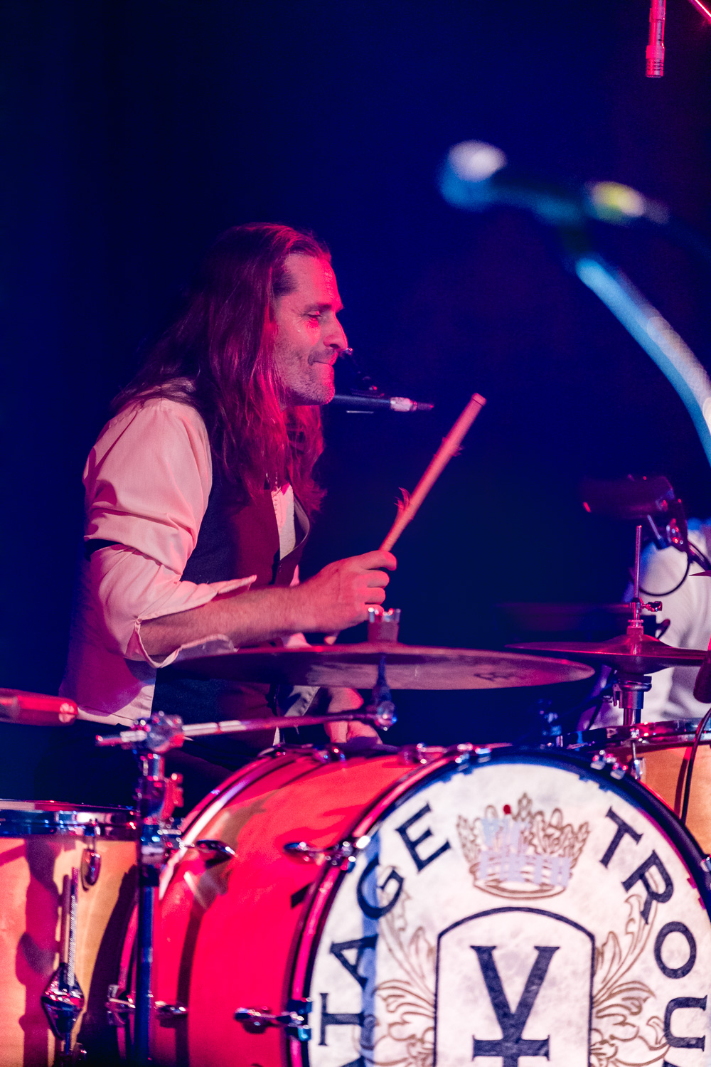 Drummer for Vintage Trouble. Photo: Lmsorenson.net