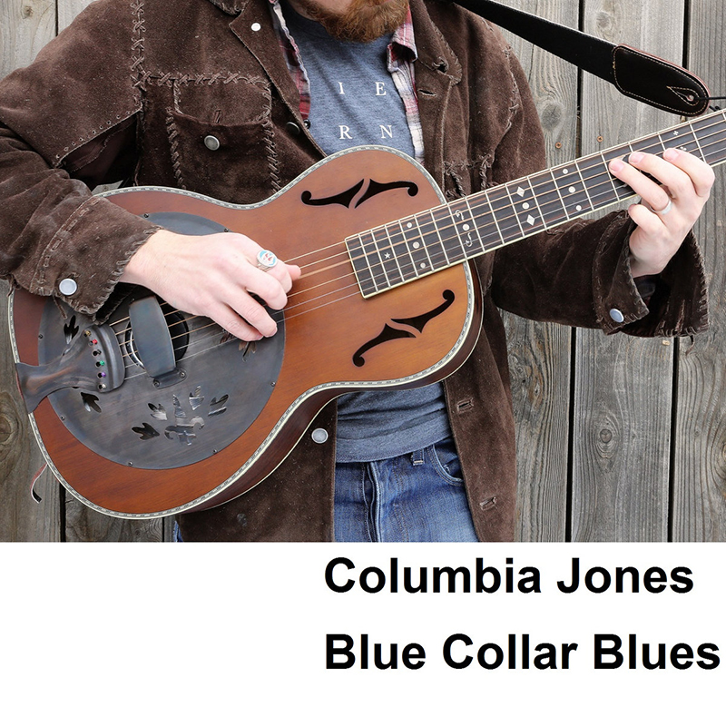 Local Music Reviews: Columbia Jones – Blue Collar Blues