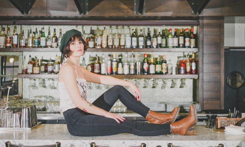 Michaela Dransfield, bartender at Under Current. Photo: @clancycoop