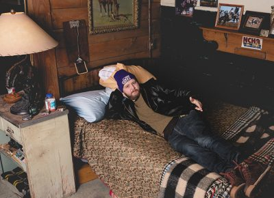 Mike Brown makes himself at home on the set of Yellowstone at Park City Film Studios. | Photo: LmSorenson.net