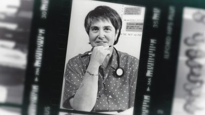 Dr. Kristen Ries in the 1980s. Photo credit: unknown