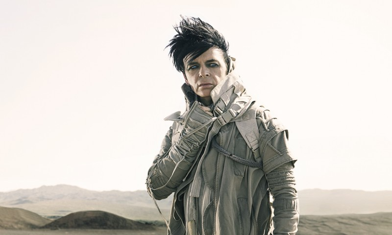 Gary Numan. Photo courtesy of the artist and BB Gun Press