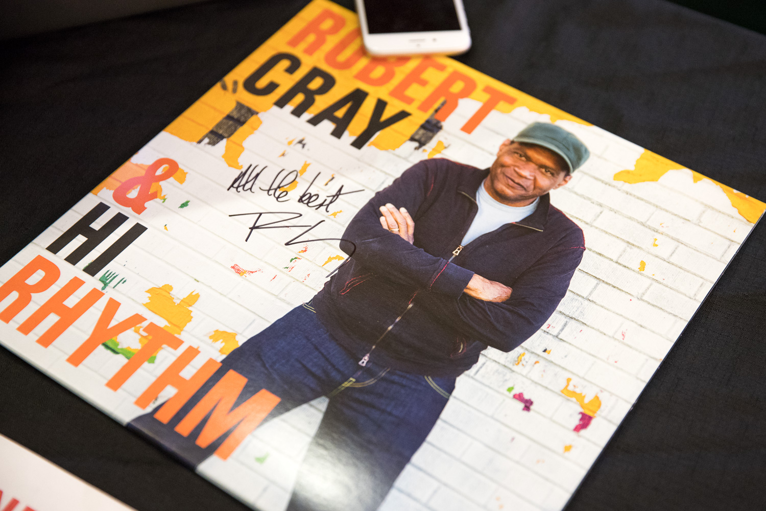 Robert Cray vinyl album for sale. Photo: @Lmsorenson.net