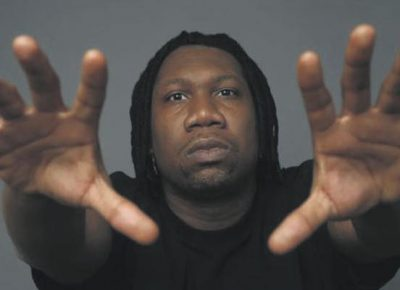 Krs-One. Photo courtesy of the artist.