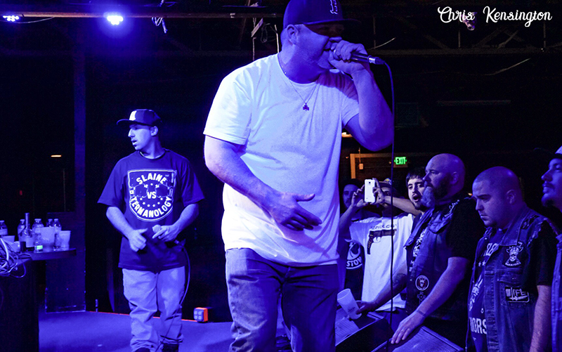 Playing Their Roles: Slaine vs Termanology