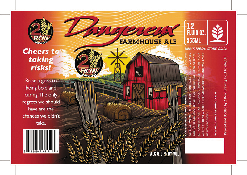 Beer of the Month: Dangereux Farmhouse Ale