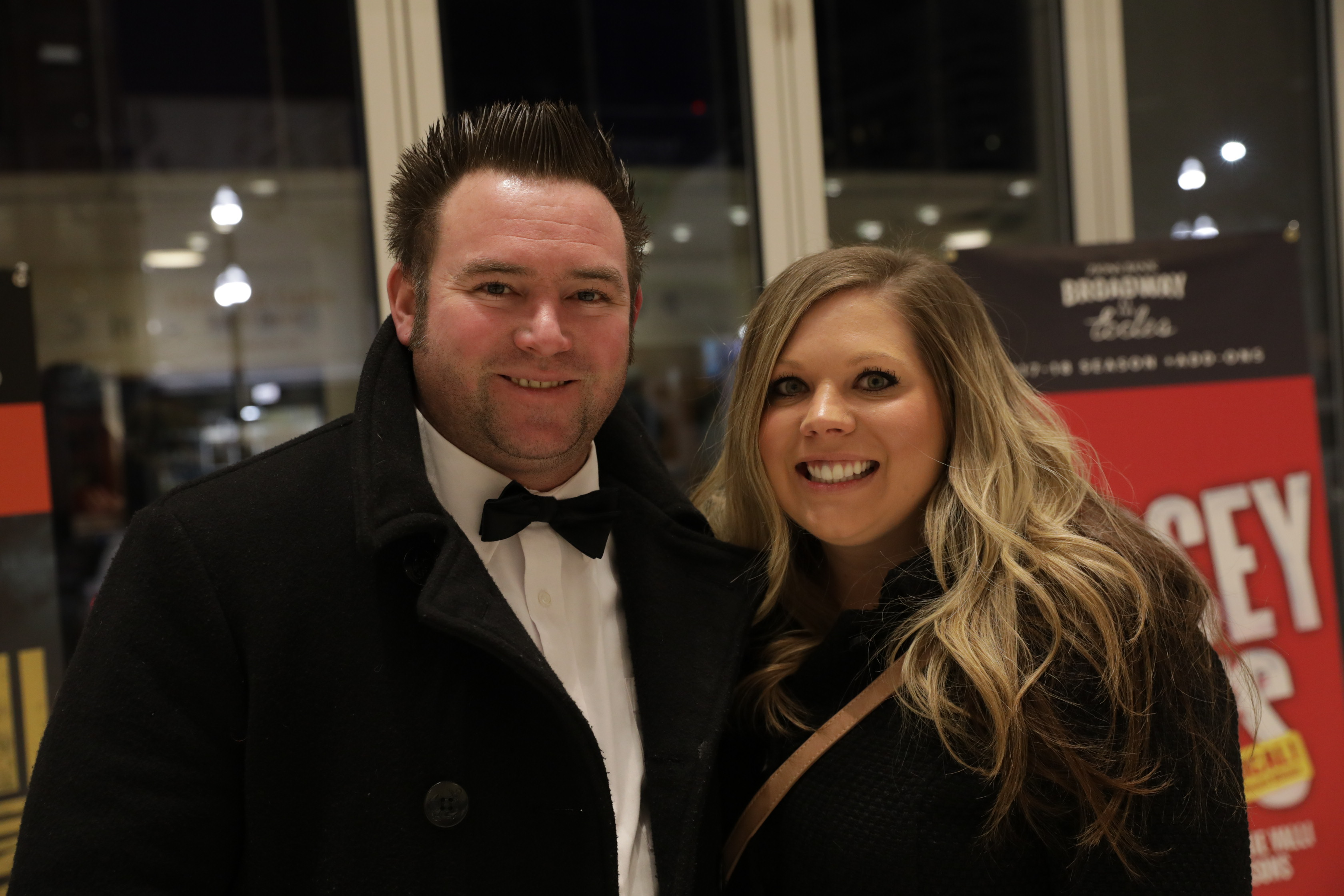 Cody and Natalie celebrate Valentines day by spending an evening out at the Eccles Theater. Photo: Lmsorenson.net