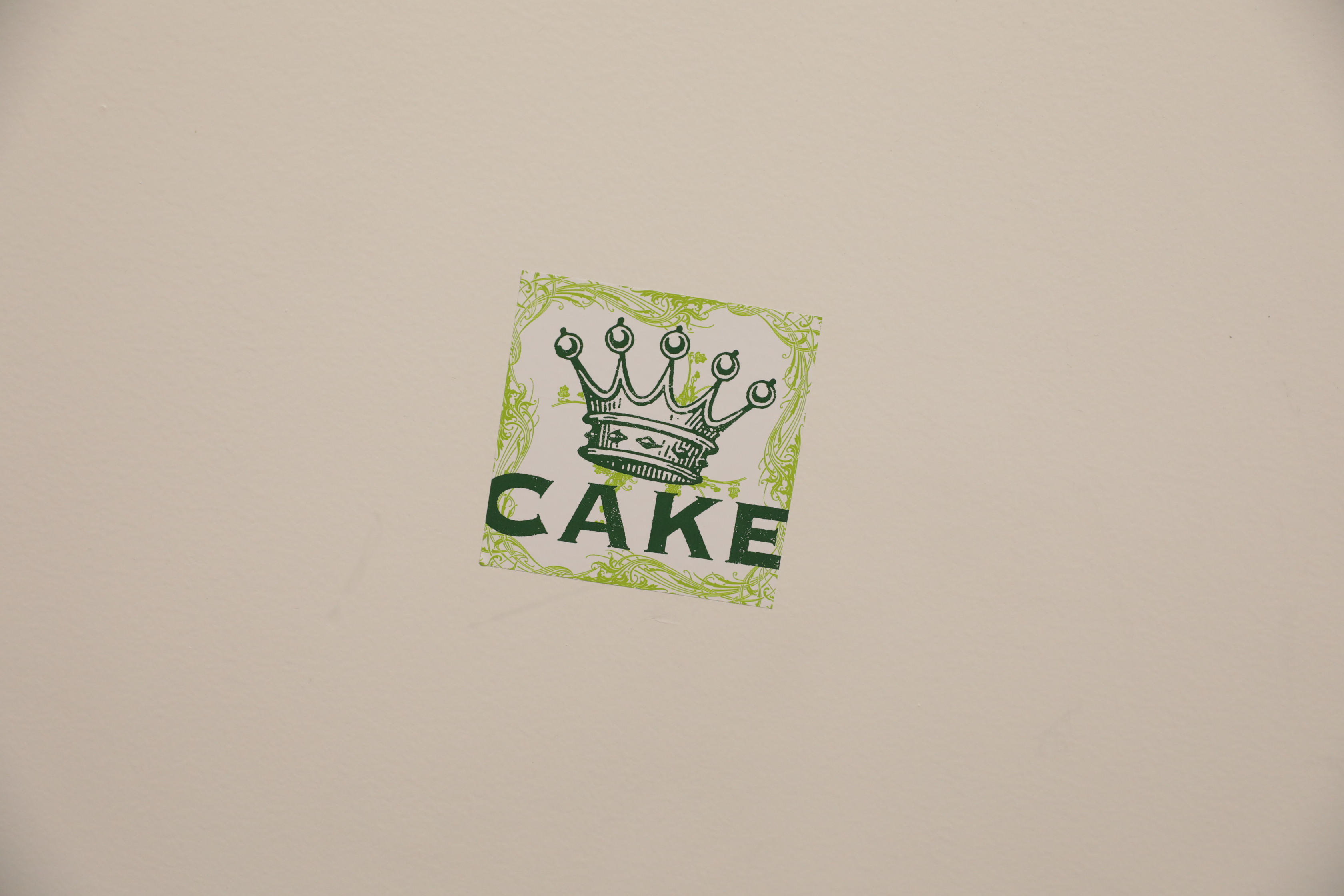 CAKE stamps their seal on the walls backstage at the Eccles Theater. Photo: Lmsorenson.net