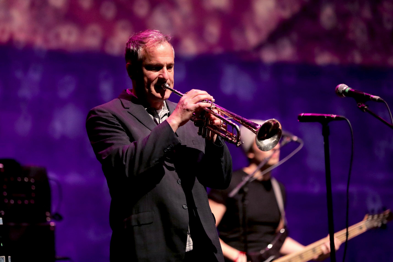 Trumpet player Vince DiFiore for CAKE. Photo: Lmsorenson.net