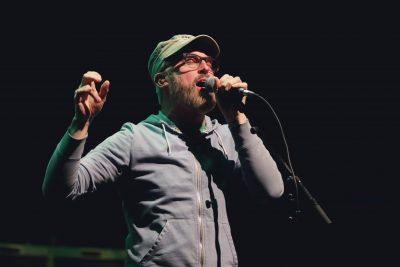 "John McCrea singing hits like ""Never There"" and ""Meanwhile Rick James."" Photo: Lmsorenson.net"