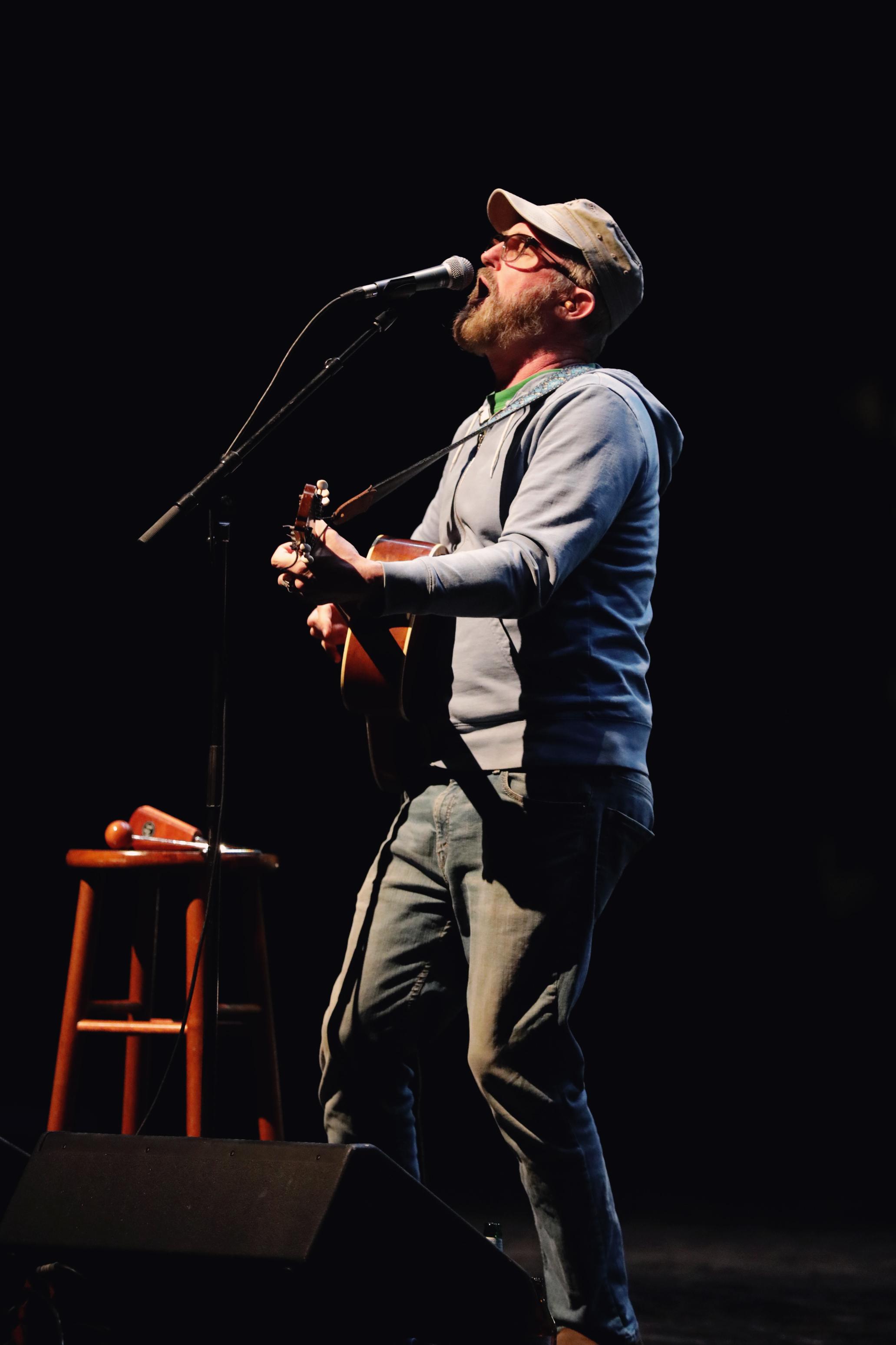 Lead singer John McCrea for CAKE. Photo: Lmsorenson.net
