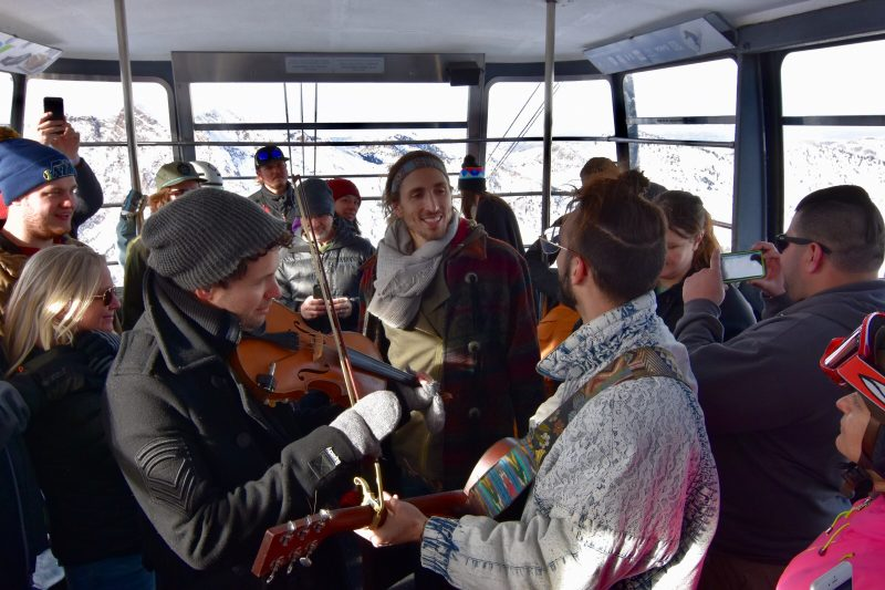 Magic Giant played the inaugural Frontside Sessions show on Jan. 31 at Snowbird. Photo: Eric Walle