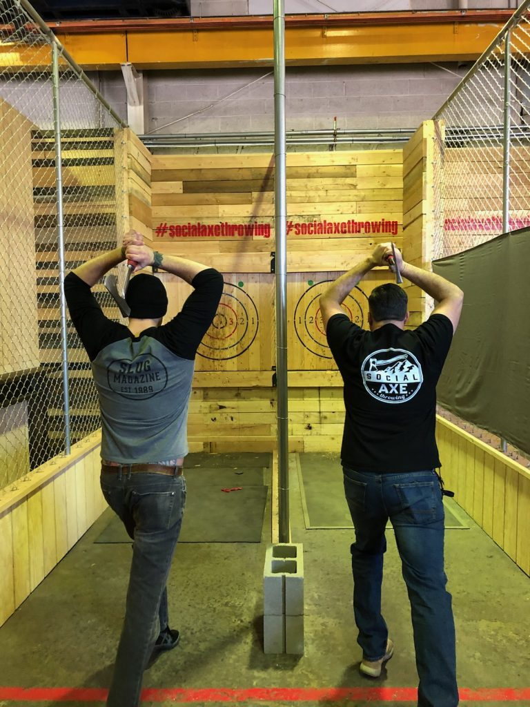 This is Primal: Social Axe Throwing in SLC